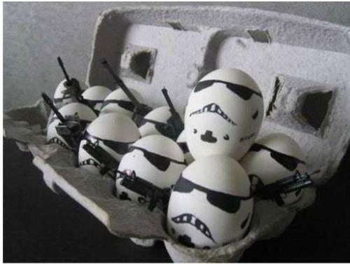 Lustige Ostereier Star Wars Soldaten Ostern Spruche Ostern