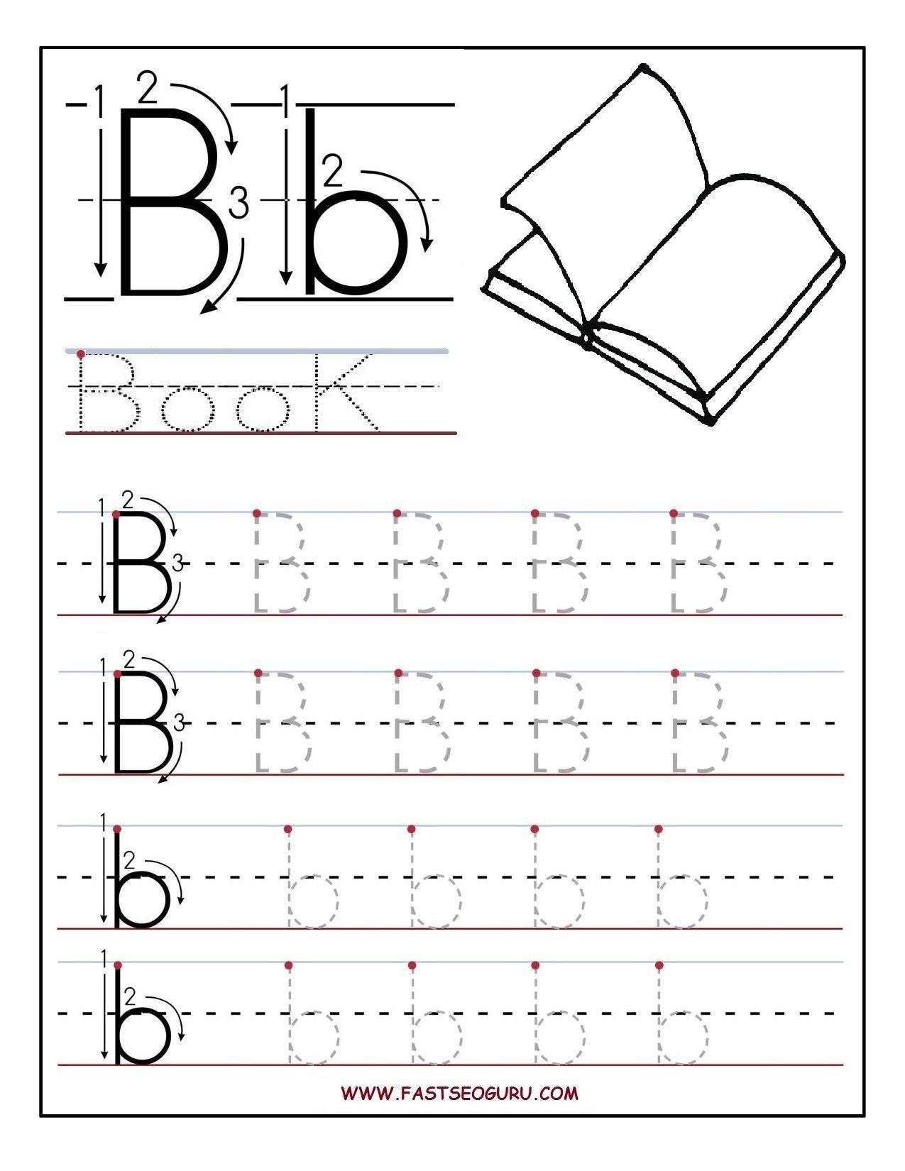 Letter B Worksheets Preschool Letter B Worksheets Buscar Con Google In 2020 Letter Worksheets For Preschool Alphabet Worksheets Preschool Alphabet Writing Worksheets