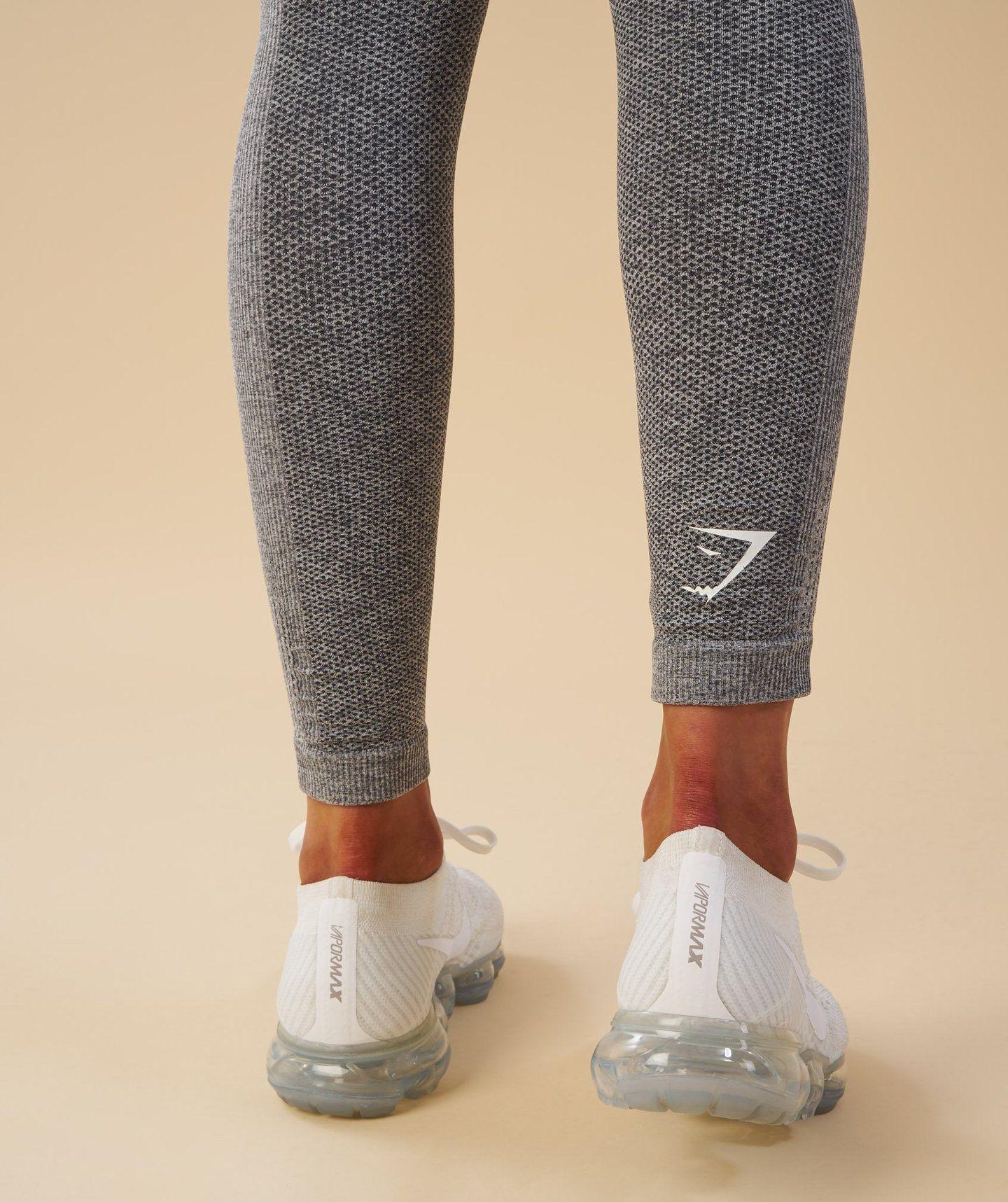 4df95ecfcc07a Gymshark Ombre Seamless Leggings - Black/Light Grey 4 | Gymshark ...