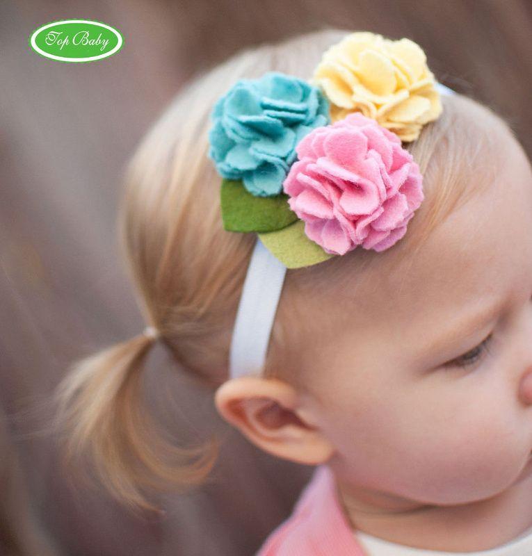 Diademas para bebes y ni as hair bow and craft - Diademas para ninas ...
