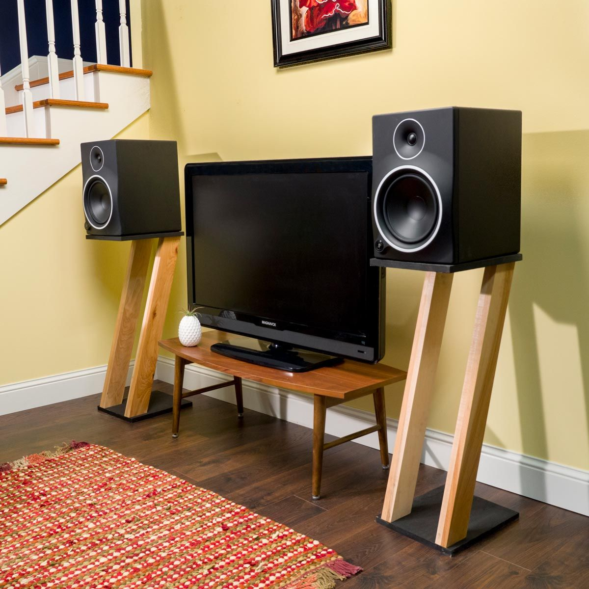 Saturday Morning Workshop How To Build Speaker Stands Lautsprecher