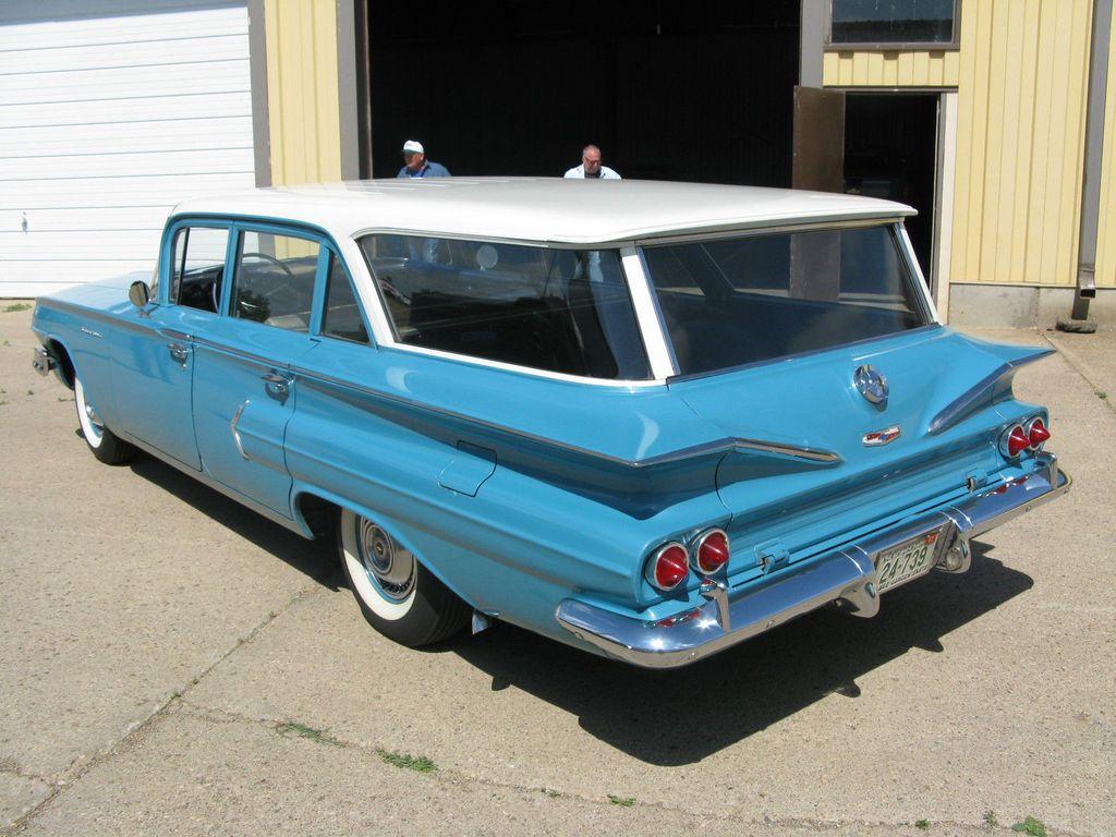 All Original 1960 Chevrolet Brookwood Dream Garage Pinterest