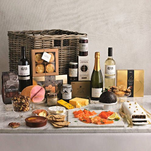 Gourmet Chilled Hamper 250 Marks Spencer Marksandspencer Com Christmas Food Christmas Food Gifts Food
