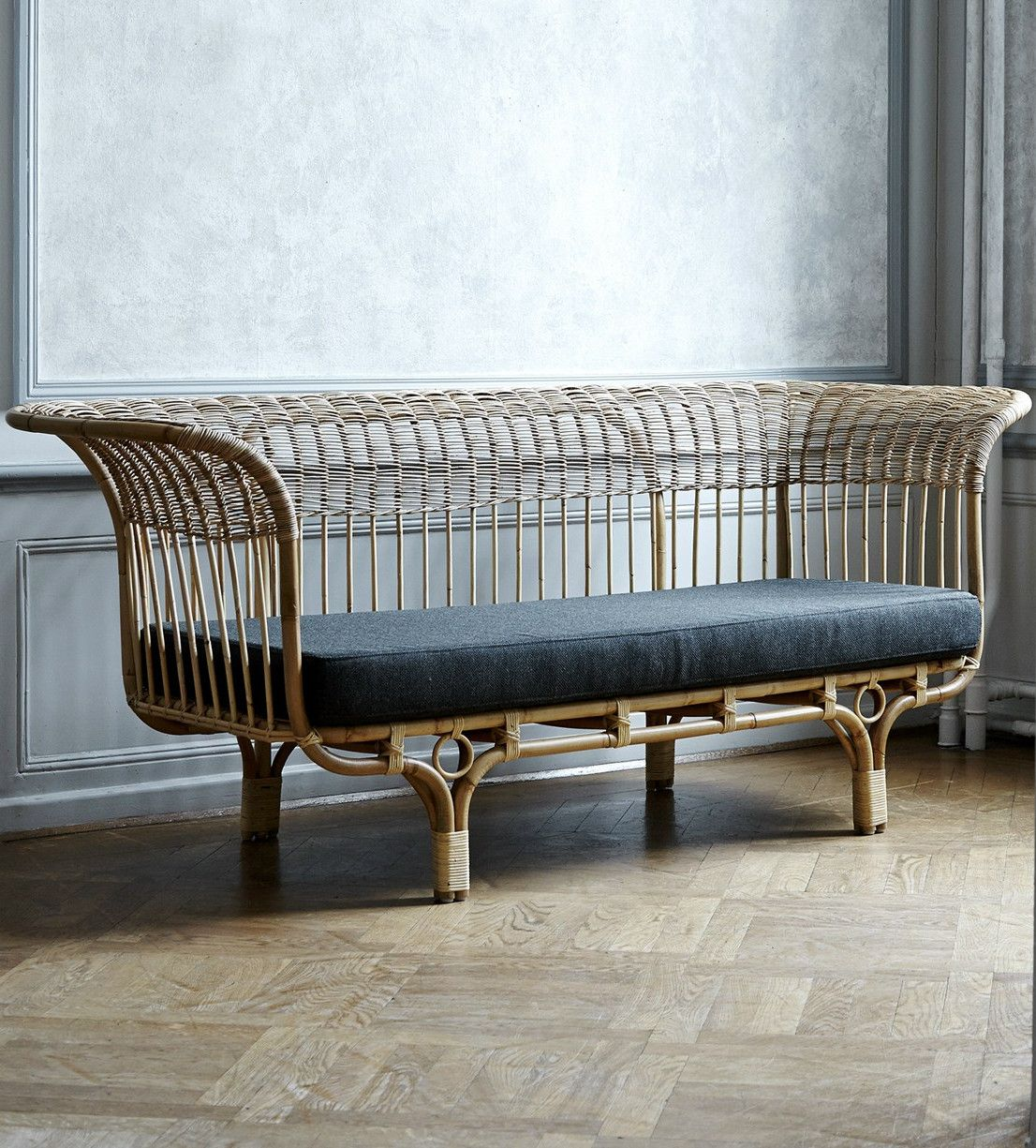 The Revival Of The Decorative Rattan Sofa, Designed In The Elegant Rattan  Sofa Belladonna Is Part Of Sika Design Icons Collection And I Really Can´tu2026