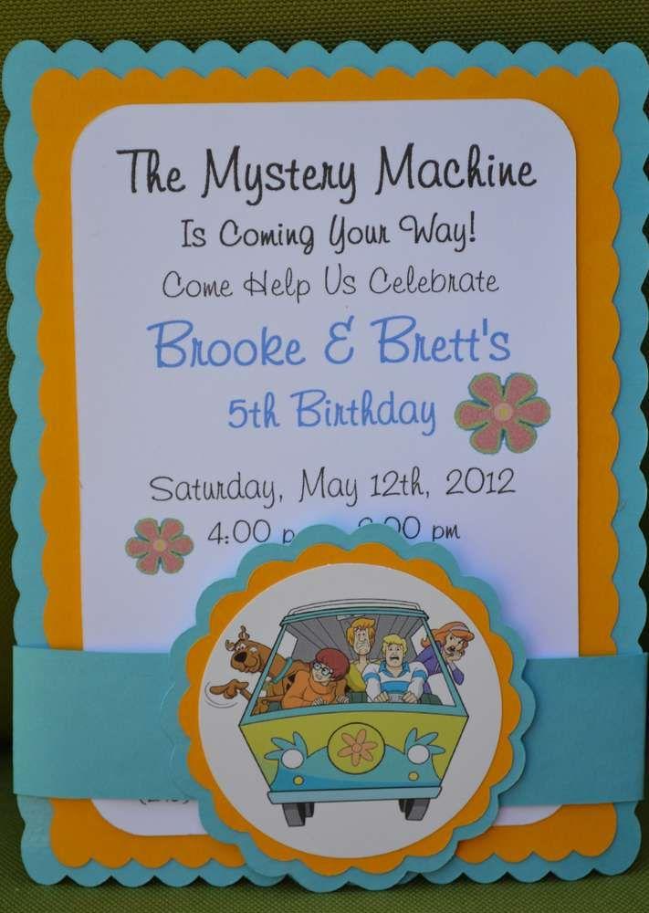 Mystery IncorporatedScooby Doo Birthday Party Ideas Birthday
