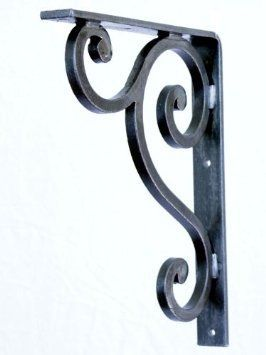 Decorative Forged Wrought Iron Shelf Or Granite Counter