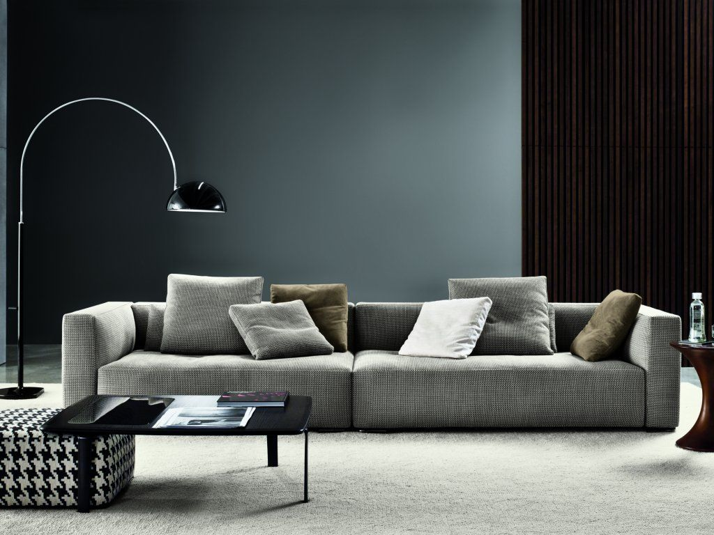 minotti living room minotti donovan sofa excellent cushion positioning 10669