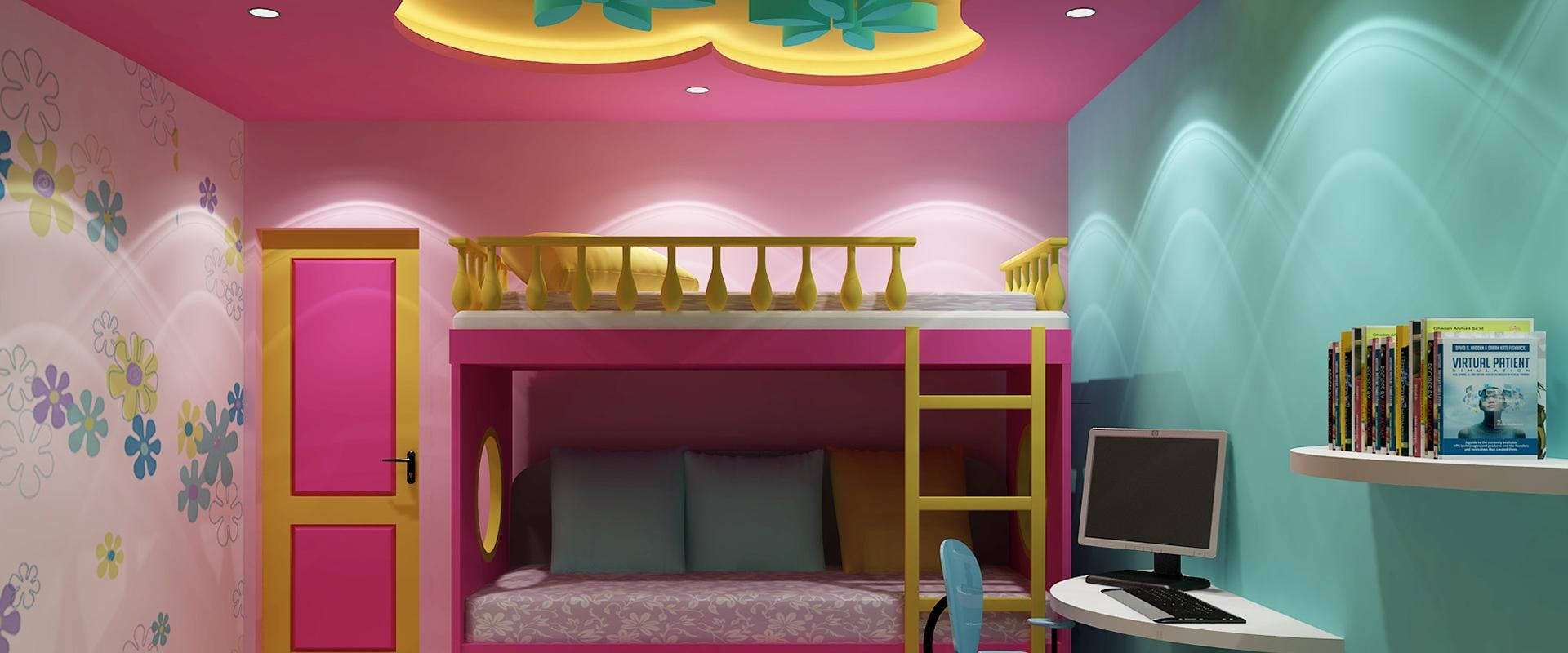 Kids room | False Ceiling | Gypsum Board | Drywall | Plaster