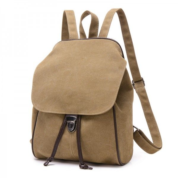 1858094a19 2018 New Casual Canvas Women Backpack Retro Vintage female Students School  Bags Shoulder Bags Tote Handbags