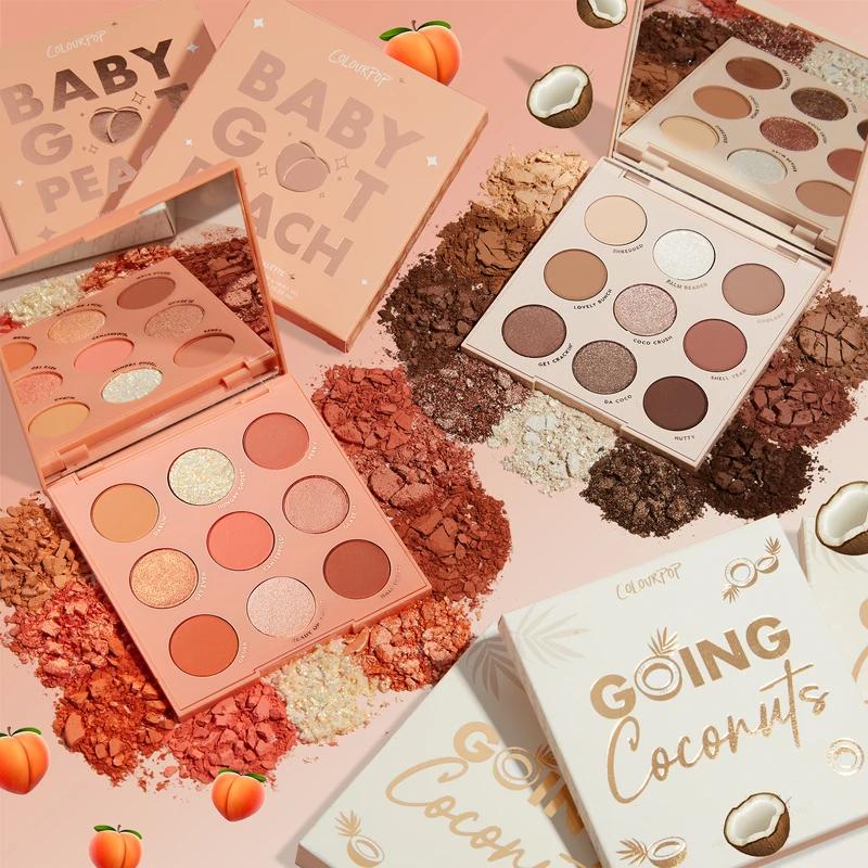 Peach Colada Eyeshadow Palettes Set in 2020 Peach