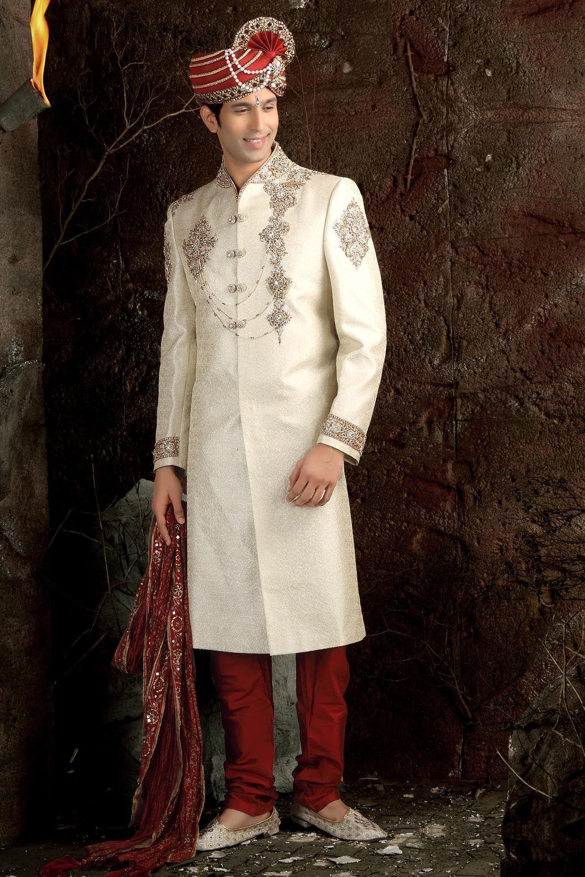 Mens Indian Dress Wedding Indianfashion Indian Wedding Dress Gents Wedding Dress Informal Wedding Dresses [ 1800 x 1200 Pixel ]