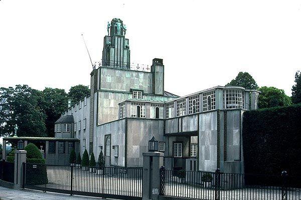 palais stoclet architecte hoffmann d cor int rieur