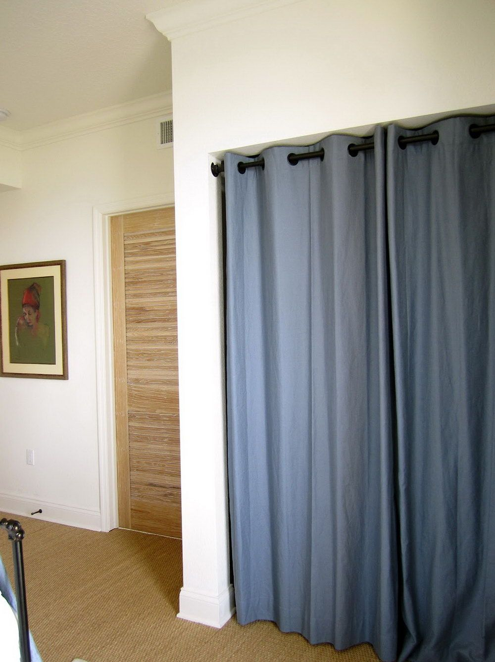 Best Closet Door Ideas To Spruce Up Your Room Curtains For Closet Doors Bedroom Closet Doors Closet Bedroom