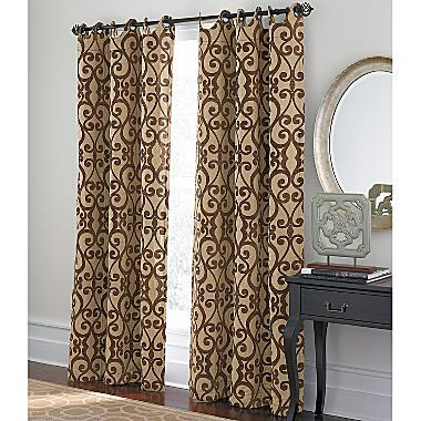 Cindy Crawford Style Palais Grommet Panel Jcpenney Home Decor