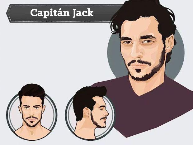 13 Imagenes de diferentes tipos de barbas