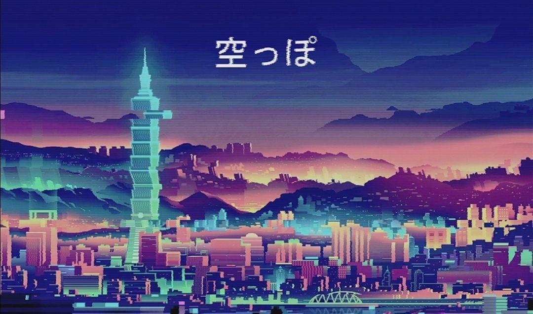 Anime japan city wallpaper 4k