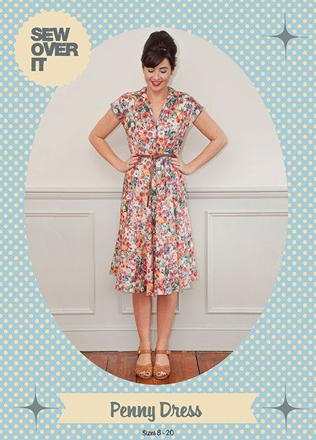 Sew Over It Penny Dress Downloadable Pattern sewing pattern ...