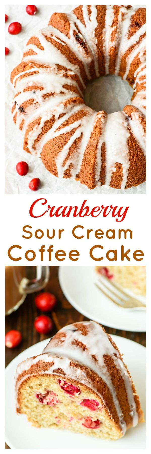Cranberry Sour Cream Coffee Cake Coffee Cake Sour Cream Coffee Cake Breakfast Coffee Cake