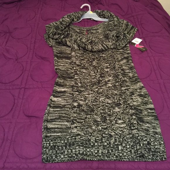 Dress Sweater dress with scarf Dresses Mini