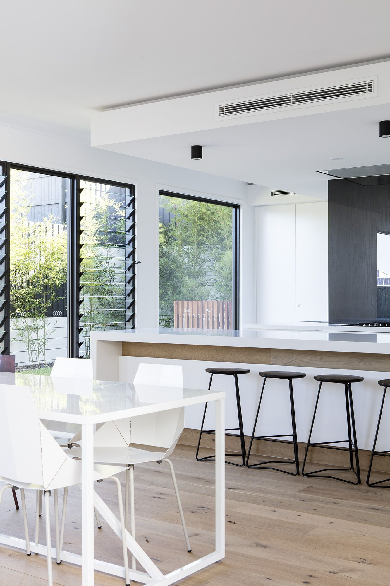 View from another angle of this sleek design by immackulate designer homes the peregian springs also rh pinterest