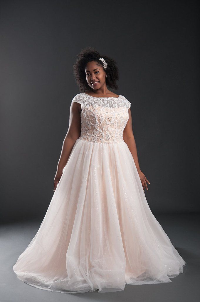 LuLu Wedding Dress Belle Curvy Couture Plus Size Gowns