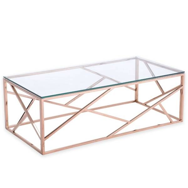 Rose Gold Coffee Table!!