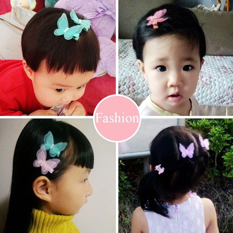 Baby hair pins kids hair accessories butterfly clips #kidshairaccessories