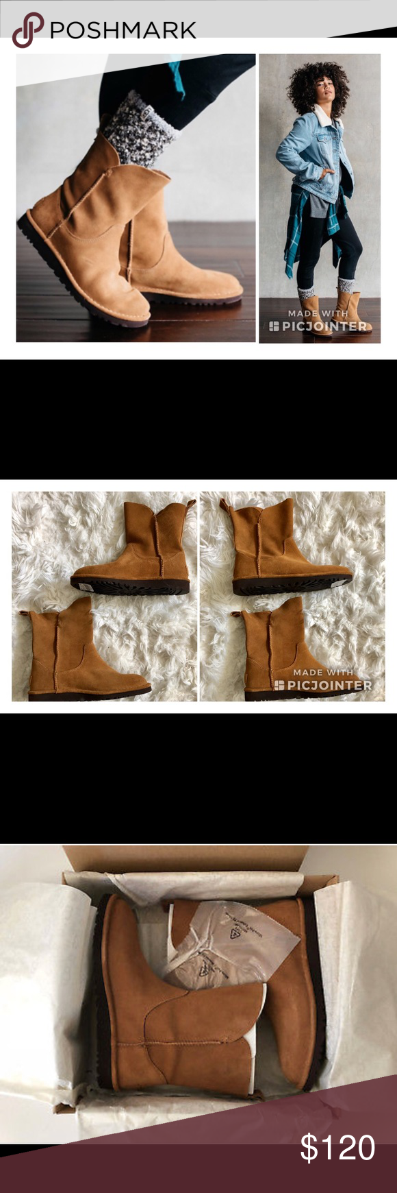 5a1f85b5f5d 🔥NWT UGG Alida Boots🔥 UGG Light as air, soft as ever, this Classic ...