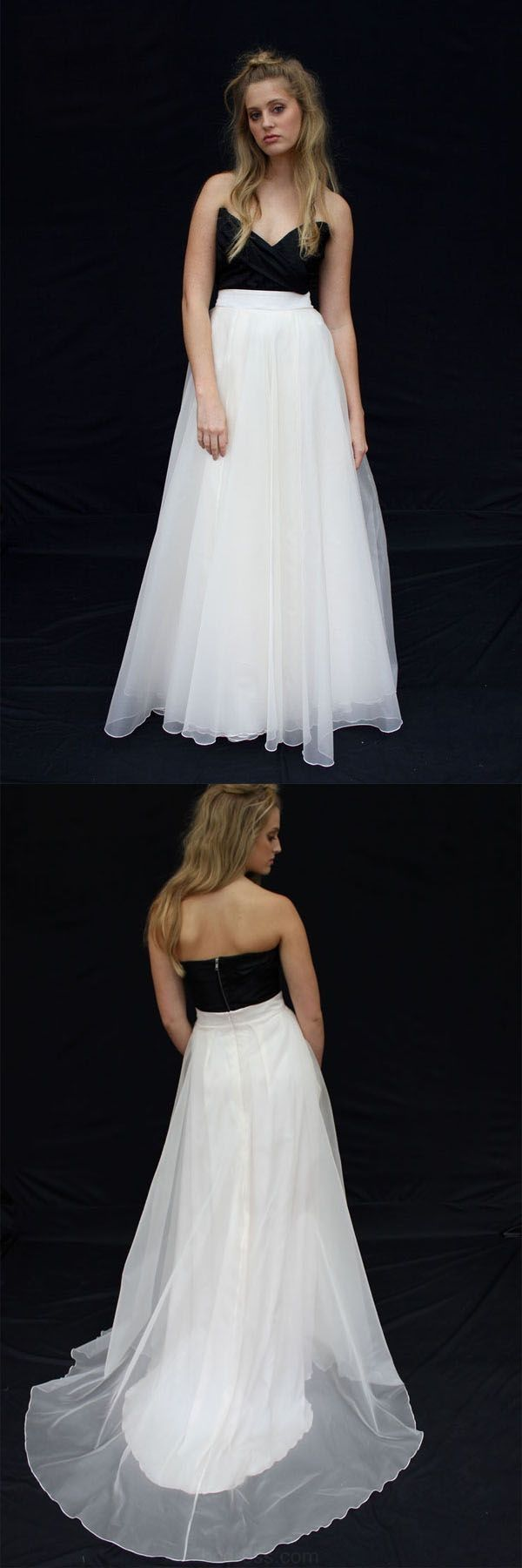 Twopiecepromdresses two piece prom dresses white prom dresses