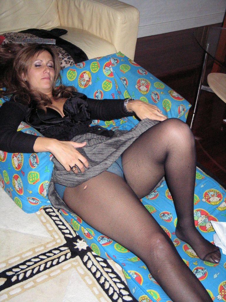Sexy wife pantyhose