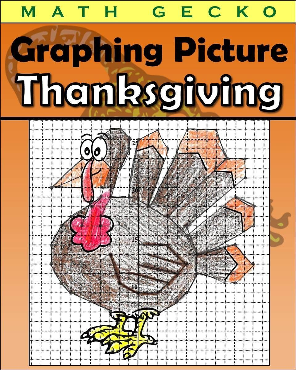 Turkey Coordinate Graphing Worksheet Coordinate Graphing