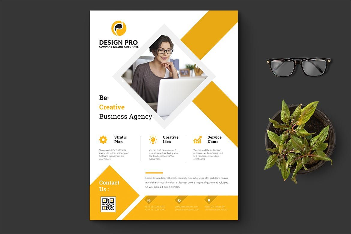 Flyer Template AI EPS A Flyer Design Templates Pinterest - Brochure template illustrator