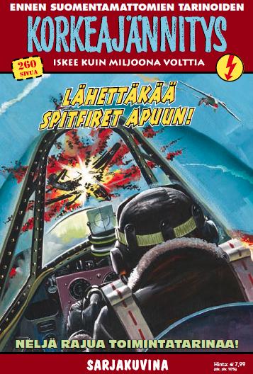 Korkeajännitys - Lähettäkää Spitfiret apuun! #sarjakuva #sarjis #egmont