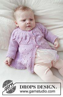 Photo of Pink Petals Hat / DROPS Baby 33-14 – Kostenlose Strickanleitungen von DROPS Design
