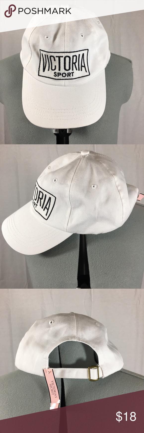 5877bffc4db Victoria s Secret Logo Hat VS Sport baseball