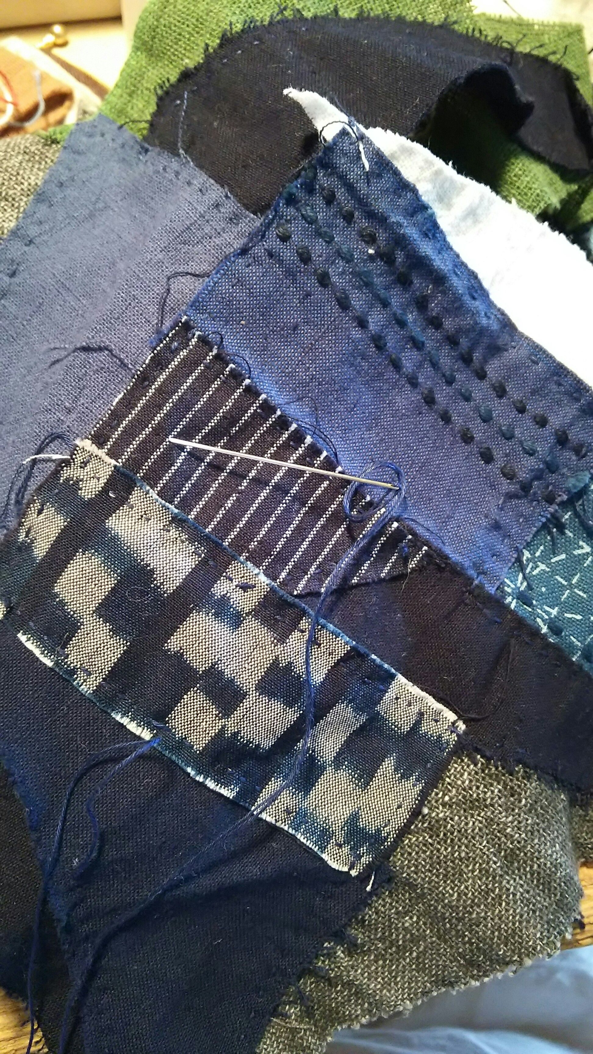 """❤ =^..^= ❤     Scrap Buster!  Sew leftovers together """"as is"""" 