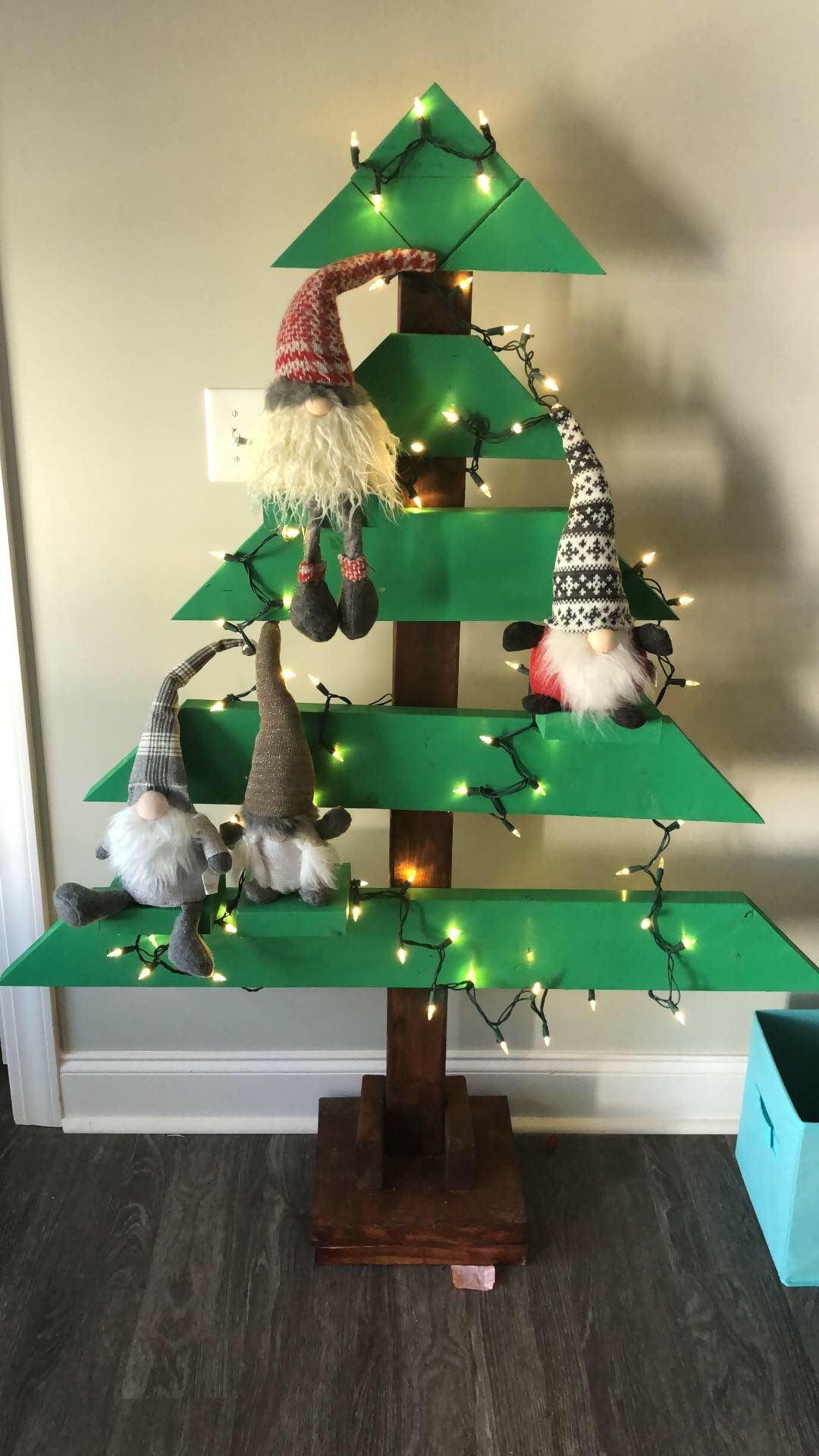 Wood Christmas Tree Diy Christmas Crafts Diy Wood Christmas