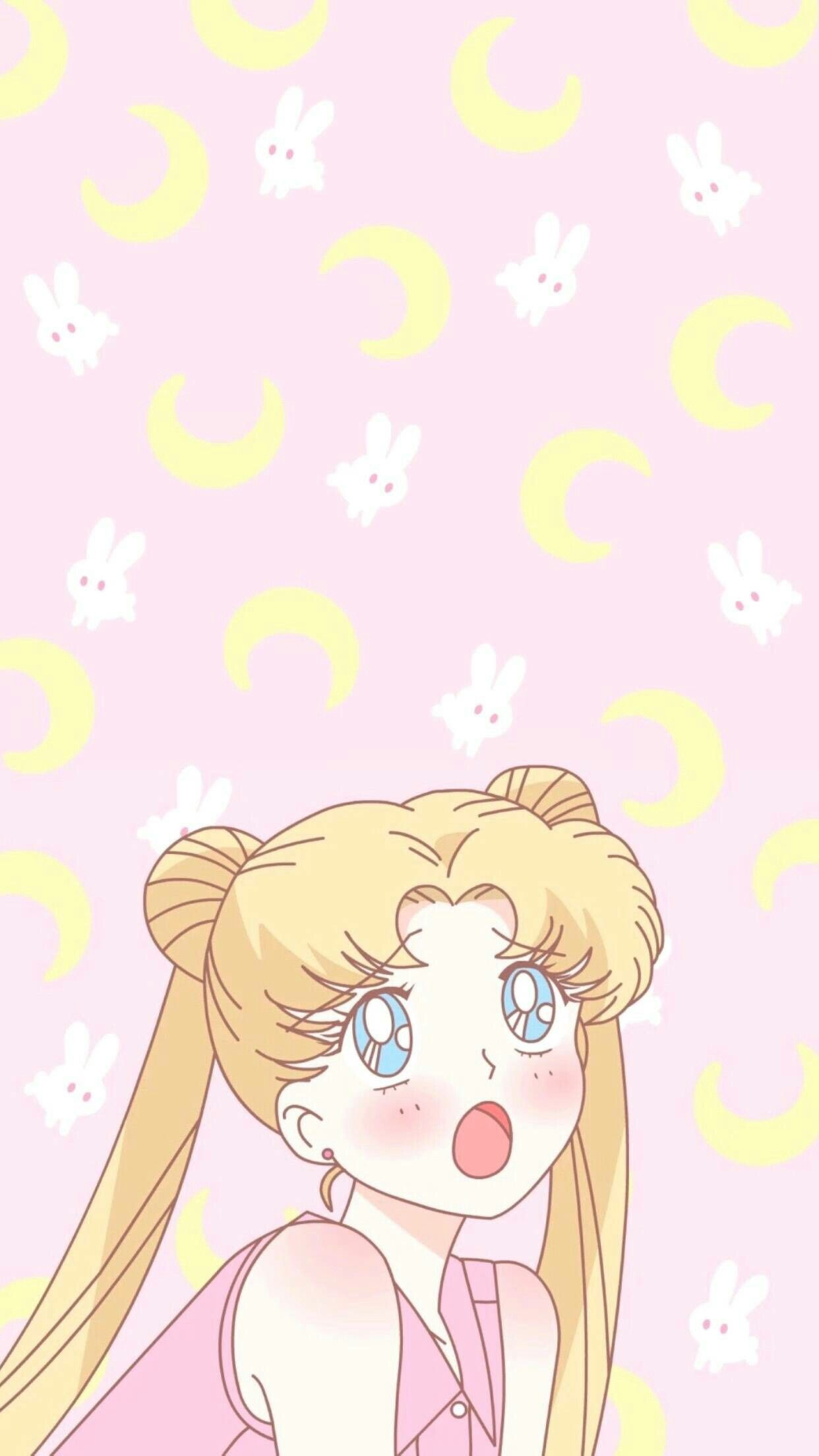 Anime Sailor Moon Usagi Tsukino Sailor Moon Wallpaper Sailor Moon Aesthetic Sailor Moon Art