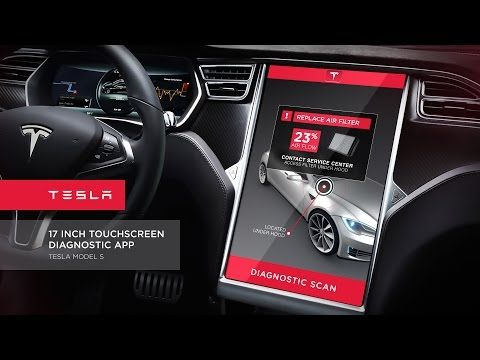 Tesla Diagnostic App - Animated Concepts - YouTube