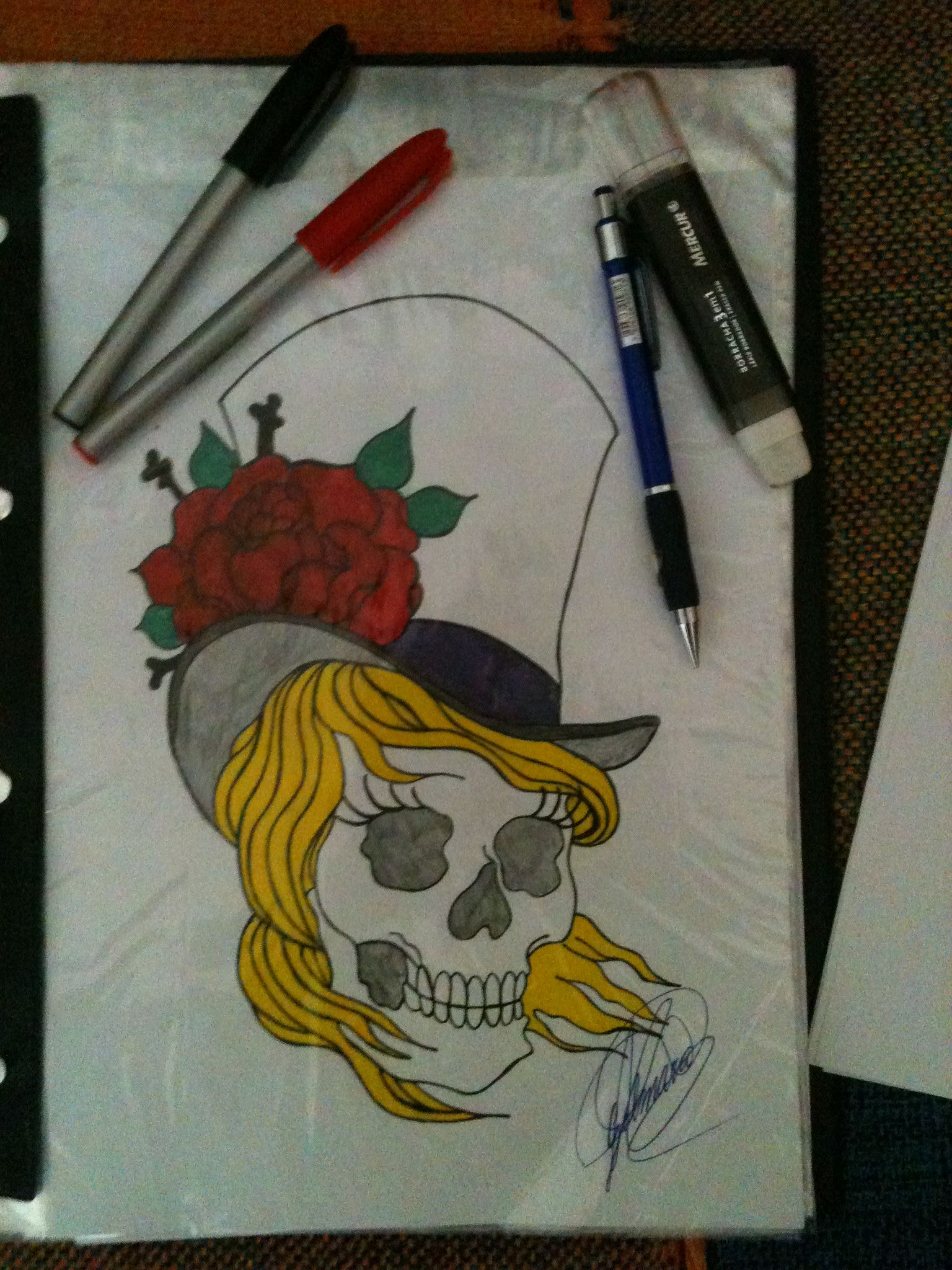 Design Caveira tatto