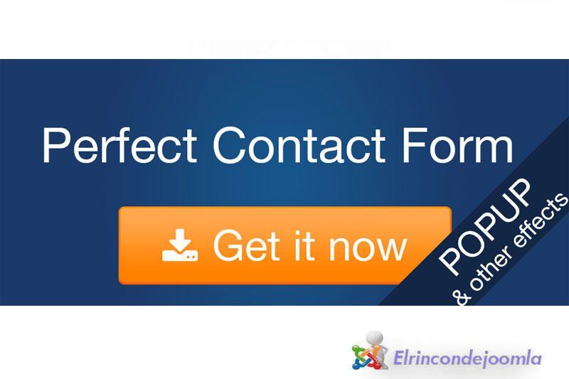 desarrollado para Joomla! CMS. Este formulario de contacto es ...