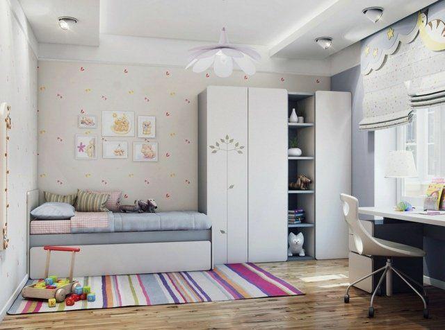 Chambre petite fille en 105 idées de design et décoration!
