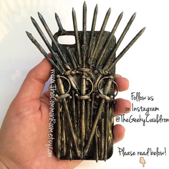 Iron Throne Handmade Iphone Phone Case Game Of Thrones Iphone 4