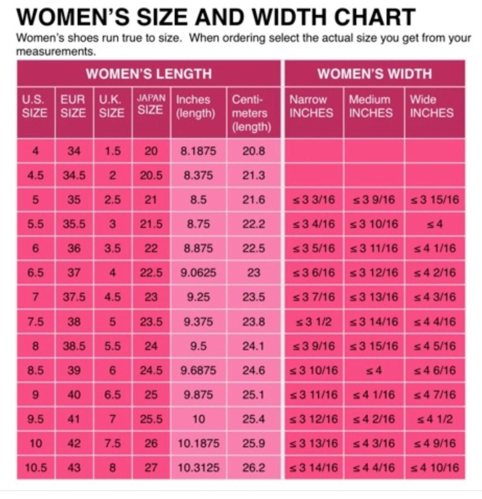 Buy - womens european shoe sizes to us
