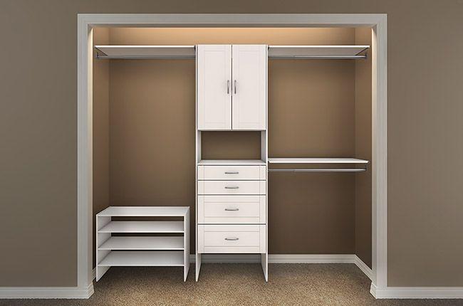 Closet Maid Design Idea 4 girls closet | Home remodel | Pinterest ...