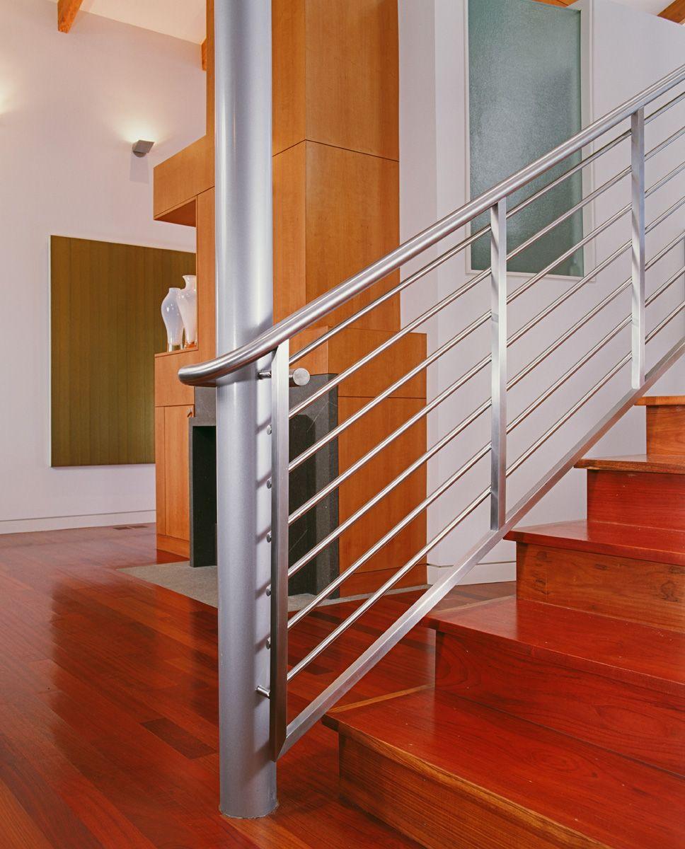 Modern Interior Staircase Materials Photo: Staircase Interior Design, Custom Woodworking
