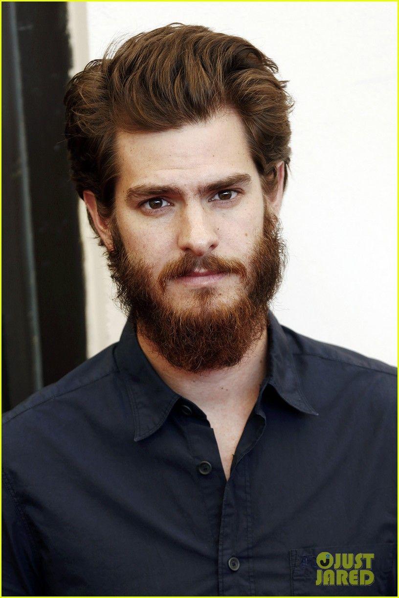 Andrew garfield strokes his big bushy beard at the u homesu photo