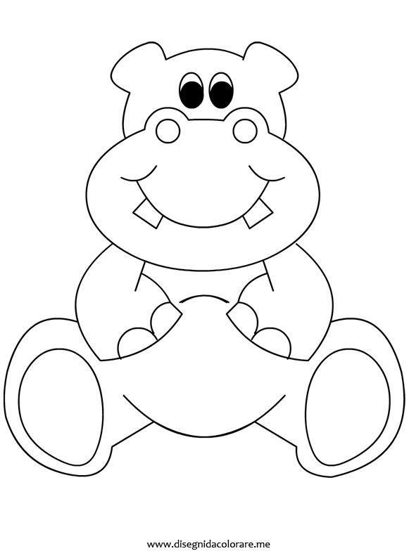 Ippopotamo | Animali | Pinterest | Babyzimmer, Plotten und Kinderzimmer