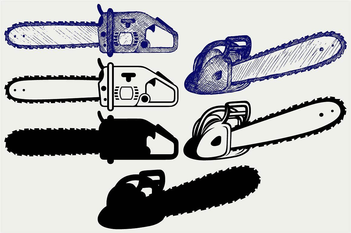 Chainsaw Svg Chainsaw Svg Technology Icon