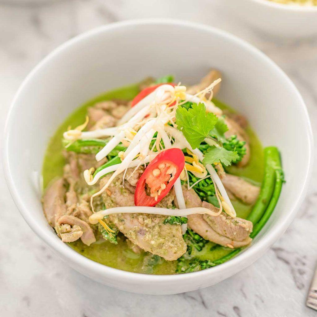 Keto Thai Green Chicken Curry Recipe Curry recipes